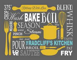Kitchen Art Personalized Prints By 7 Wonders Design On Etsy