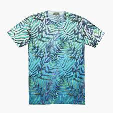 100 Coco Republic Sale Mens Tropical Tee Blue