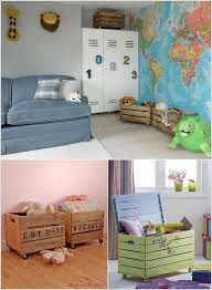 Pallet Play House Bed Toy Storage Boxes