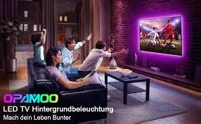 led tv hintergrundbeleuchtung opamoo led 2m usb