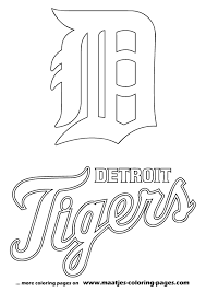 Best Solutions Of Detroit Tigers Coloring Pages Also Download Proposal