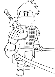 Free Ninja Coloring Pages For Kids