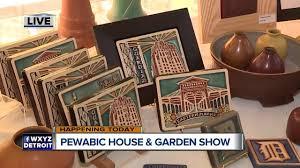 Pewabic Pottery Tiles Detroit by Pewabic House U0026 Garden Show 2017 Youtube