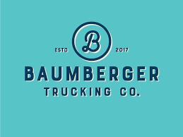 100 Trucking Company Logo Baumberger By Torey Needham Dribbble Dribbble