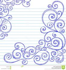 Drawing Designs On Paper Borders Easy Cute To Draw How Simple