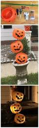 Glow In The Dark Plastic Pumpkins by Plastic Pumpkin Decorations Planters Plastic Pumpkins And Creative