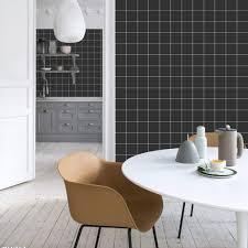 schwarzer plaid wandaufkleber klebefolie möbelaufkleber für