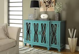 Attractive Living Room Accent Furniture Ideas Cabinets Large Teal Cabinet With 4 Glass Doors Grey