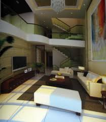 modernes luxusvilla wohnzimmer 3d modell 3ds max