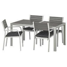 SJÄLLAND Table+4 Chairs W Armrests, Outdoor, Dark Grey, Hållö Black Alexia 5 Pcs Contemporary Set 4 Black Chairs And White Modern Table Inspire 5piece Greywhite Kids Table And Chair Set Garden Trading Rive Droite Bistro Chairs Shutter Blue Costway Piece Ding Wood Metal Kitchen Breakfast Fniture Black Rakutencom Black Table Chairs Dorel Living Devyn 3piece Faux Marble Pub Ikea In Camberwell Ldon Gumtree Brooklyn Oak Leather Bro103 Warmiehomy Glass 6 With 2375 Square Inoutdoor 2 Meco Sudden Comfort Deluxe Double Padded Back Card Courtyard Cosco Foldinhalf Folding