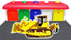 Dump Truck | Learn Colors With Heavy Vehicles | Trucks & Cars For ...