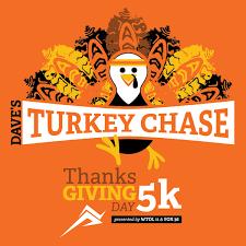 Daves Turkey Chase 5k Thanksgiving Day Run Walk