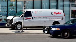100 Uhaul Truck Rental Nyc Ryder Saddened As Van In Toronto Collides With Pedestrians Fox