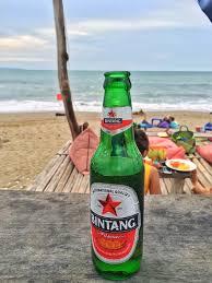 Alewerks Pumpkin Ale Ibu by Bintang Beer Beach Petitinget Bali Indonesia Beer With A View