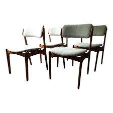 Vintage Dining Room Table And Chairs Danish Modern