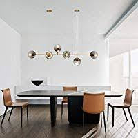 zmh led pendant light dining table modern dimmable height