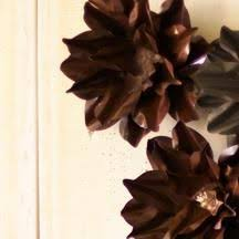 Medium Rustic Metal Wall Flower By Kalalou