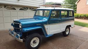 100 Willys Jeep Truck 1963 Wagon Jumping Into Past Wagon
