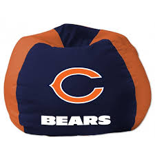 chicago bears nfl bean bag chair by the northwest at bedding com