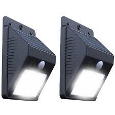 solar lights wall mount energy saving solution warisan
