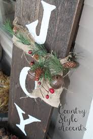 Christmas Rustic JOY Sign Countrystyleaccents