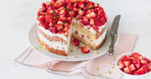erdbeer sahne torte leicht und ohne gelatine