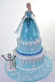 pictures of frozen birthday cakes