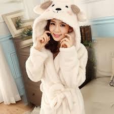 robe de chambre capuche peignoir à capuche robes pour femmes robe de chambre peignoir chaud