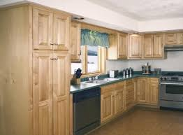 unfinished kitchen cabinets menards