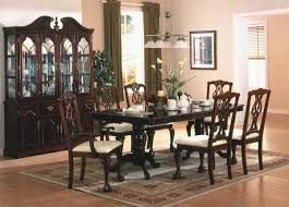 Ortanique Round Glass Dining Room Set by Ortanique Dining Room Set