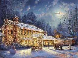 Thomas Kinkade Christmas Tree Cottage thomas kinkade signed and numbered limited edition print and hand