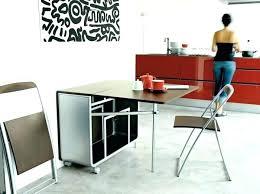 table cuisine rabattable meuble de cuisine avec table escamotable table cuisine escamotable