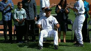 Yankees Give Mariano Rivera A Rocking Chair Made Of Bats ... Recycled Rocking Chair Made From Seball Bats Ideas Bucket Seat Contemporary 43 Rocker Recliner In Brown Dollhouse Rocking Chair Miniature Wooden Fniture 1960s Triconfort Mid Century Recliner Rivera Pool Chair White Made In France Ardleigh Essex Gumtree Rivera Swivel Patio Ding Baseball Hall Of Fame Mariano Primed For Cooperstown Vintage Doll Tall Back Spindles Sedia A Dondolo Antica Faggio Curvato Tipo Thonet 1930 Yankees Honor Retiring Pregame Ceremony Cbs News Windsor Glider And Ottoman White With Gray Cushion Chalet Ski Teak Natural Elements