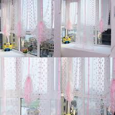 Sheer Voile Curtains Uk by Uk Curtain Embroidered Pink And Blue Flowers Balloon Shade Sheer