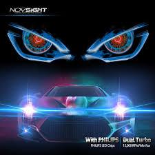 novsights auto lighting led headlight car truck suv jeep