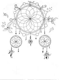 Animal Coloring Pages Dream Catchers