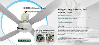 Panasonic Ceiling Fan 56 Inch by Panasonic Econavi 4 Blade 1400mm 56 Inch F M14hw Ceiling Fan