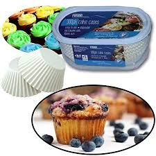 300 CUP CAKE CASES FAIRY CAKES BAKING COOKING MICROWAVE SAFE 45mm SIZE NEW Amazoncouk Kitchen Home