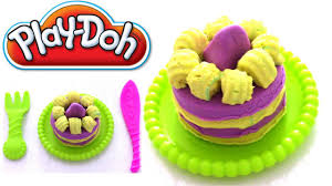 play doh knete i kuchen aus play doh i kinder i
