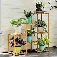 blumentopf dekorative pflanze rahmen bambuspflanze stand