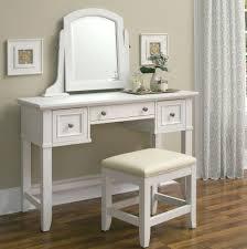 Vanity Mirror Dresser Set by Furniture Visually Eye Catching Stool With Walmart Vanity Stool