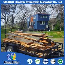 100 Small Home On Wheels China Modern Wooden Design Prefab Light Steel Mobile