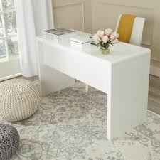 bureaux blanc laqué comment décorer un bureau laqué blanc 61 photos inspirantes