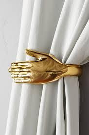 Antler Curtain Tie Backs by Curtain Rods Finials Tiebacks Anthropologie