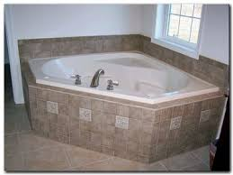 Tiling A Bathtub Deck by Bathroom Tile Ideas Around Tub Interior Design