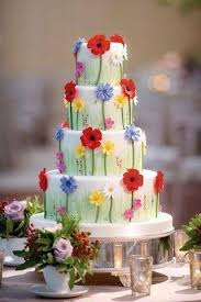 Garden Wedding Theme Styling Ideas 2018 Flower Birthday CakesBeautiful