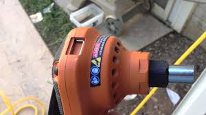 Home Depot Bostitch Floor Nailer by The Rigid Palm Nailer By Home Depot Youtube