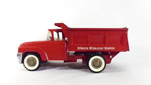 100 Structo Toy Truck VINTAGE TOY TRUCK STRUCTO HYDRAULIC DUMP TRUCK GIF By
