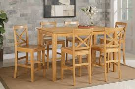 Likable Oak Pub Kitchen Table Sets Furniture Round Tables ...