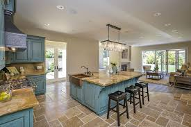 country kitchen with farmhouse sink l shaped in menlo park ca